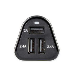 3x Smart USB in-car Charger