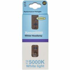 Xenon5000 H7 5000K halogen headlamp