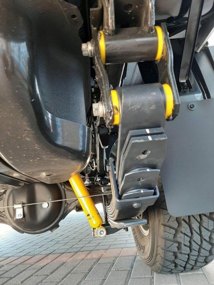 Old Man Emu suspension - Nitrocharger shock